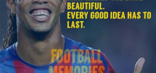 Ronaldinho Best Quotes 1