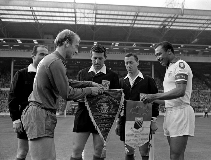 Charlton in the European Cup Final 1968