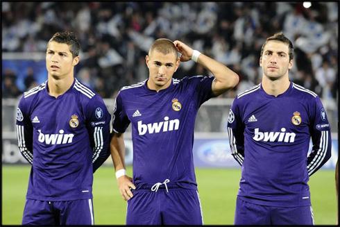 118 — Cristiano Ronaldo, Karim Benzema, Gonzalo Higuain (2011/12)