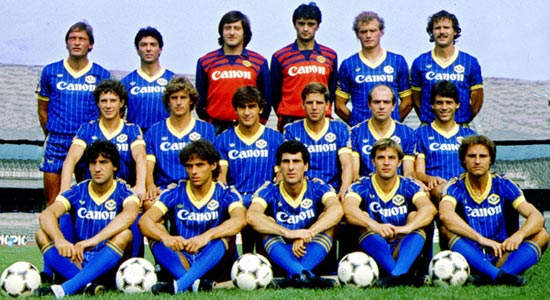 12 may 1985 hellas verona champions bagnoli led the miracle for Uniform verona