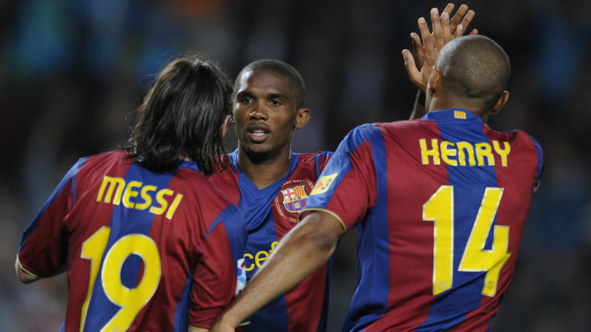 100 — Lionel Messi, Samuel Eto'o, Thierry Henry (2008/09)