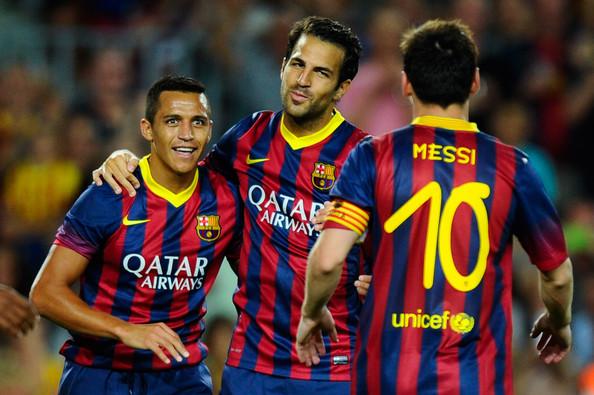 103 — Lionel Messi, Alexis Sanchez, Cesc Fabregas (2011/12)