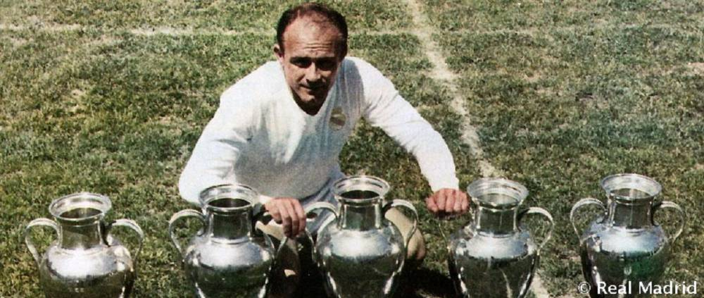 real madrid first five european cups