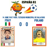 14 June 1982 Italy - Poland 0-0