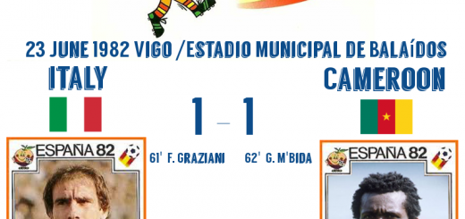 Italy v Cameroon 1-1