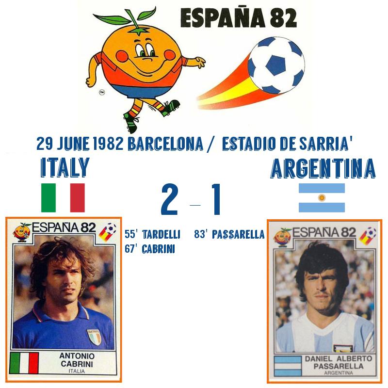 Italy v Argentina 1982 2-1
