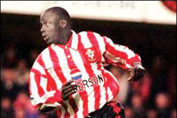 Ali Dia with Southampton