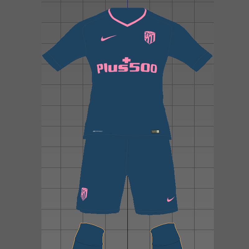 Atletico Kit 17 18