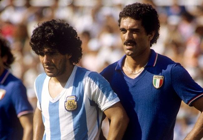 Italy Argentina 2-1 1982 Maradona and Gentile