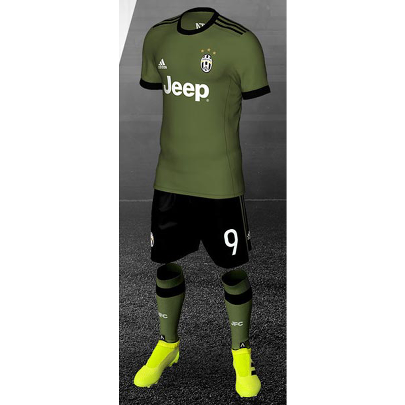 Juventus Kit 17 18