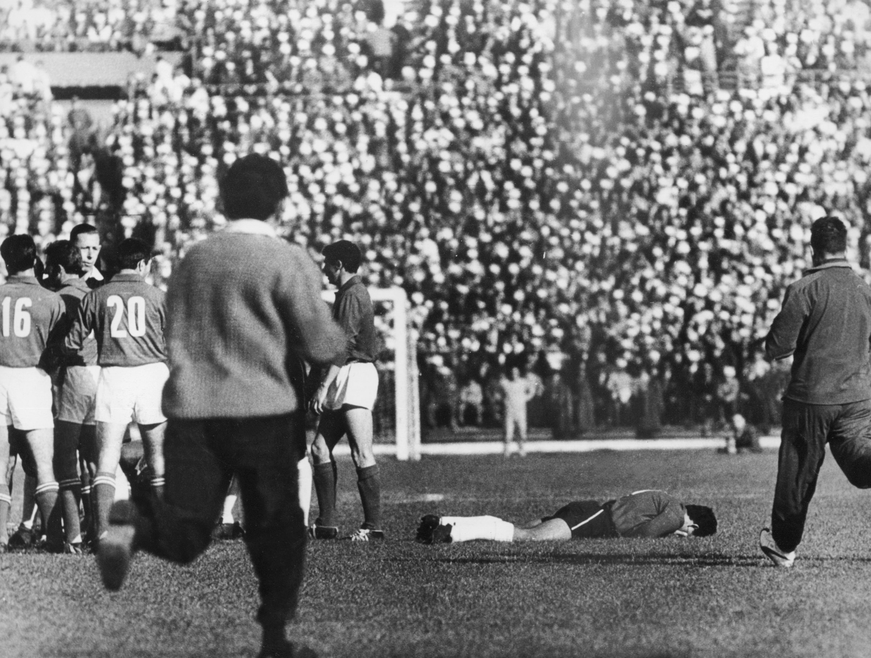 The Battle of Santiago in the World Cup 1962