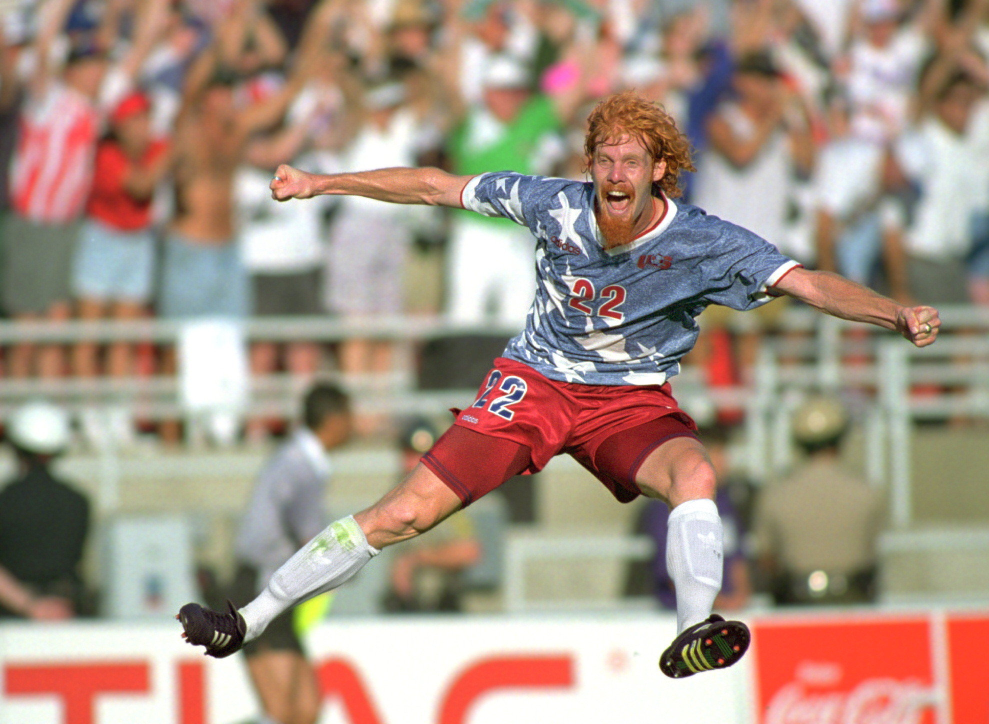 Alexi Lalas in the World Cup 1994