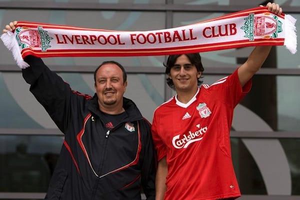 Alberto Aquilani in Liverpool
