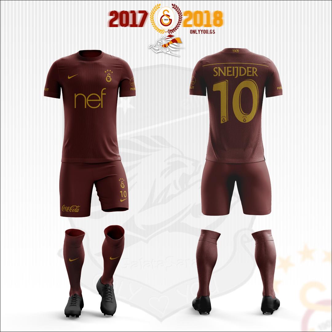 Galatasaray Kit 17 18