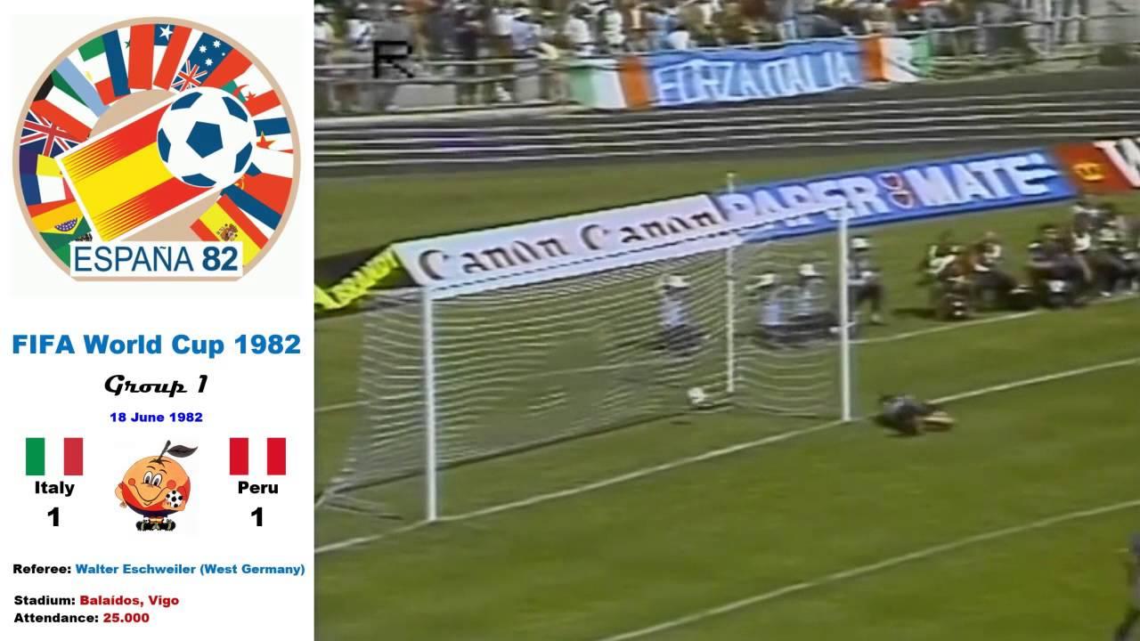 Italy Peru 1982 1-1