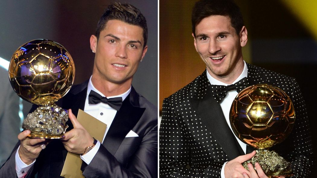 CR7 and Messi the winners of the last 9 Balon d'or