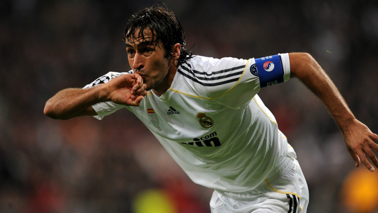 Raul with Real Madrid