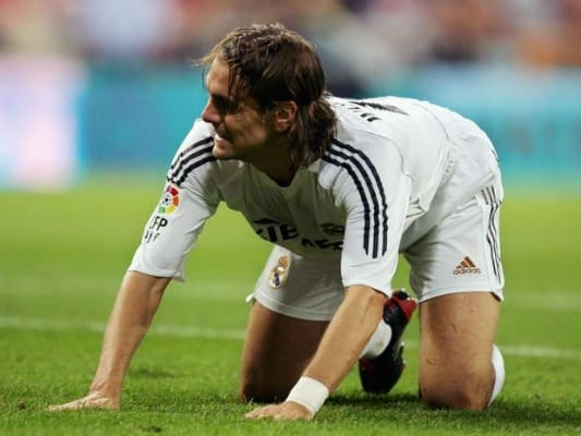 Woodgate with Real Madrid