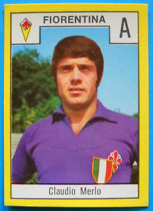 Carlo Merlo Sticker with Scudetto