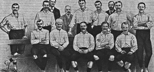 Football in 1885