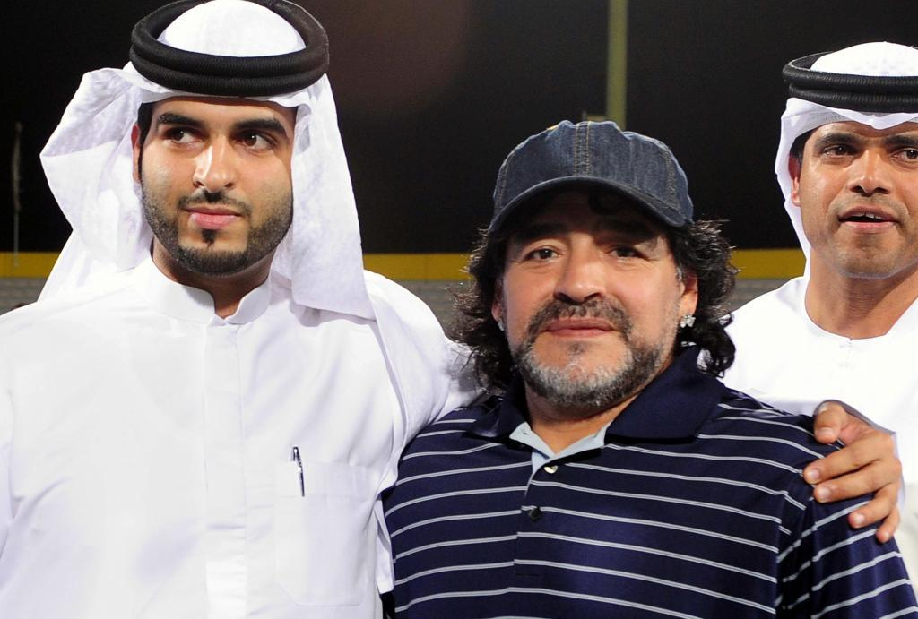 Maradona in Dubai