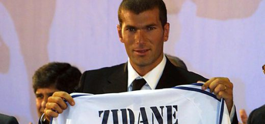 Zidane sign for Real Madrid 2001