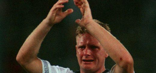 Gascoigne Tears World Cup 1990