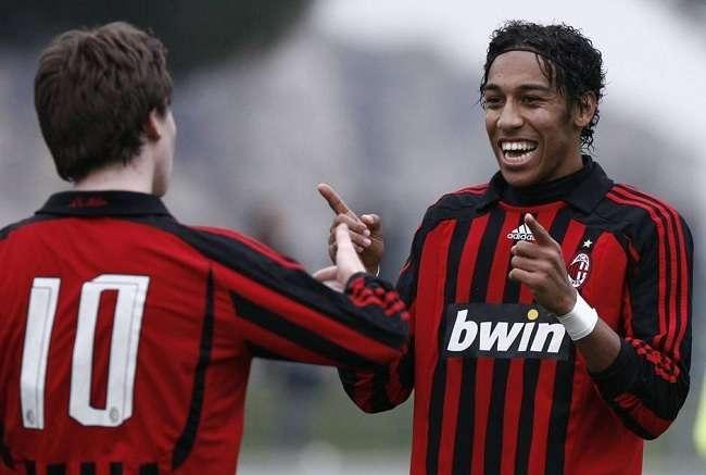 Pierre Emerick Aubameyang AC Milan