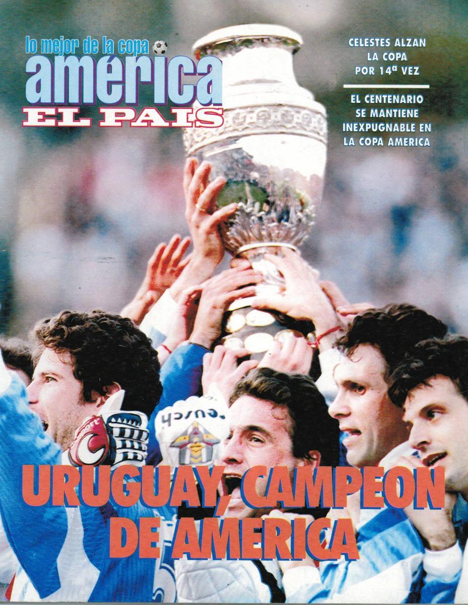 Uruguay Campeon America 1995