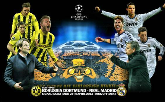 Borussia Dortmund vs Real Madrid in 2013