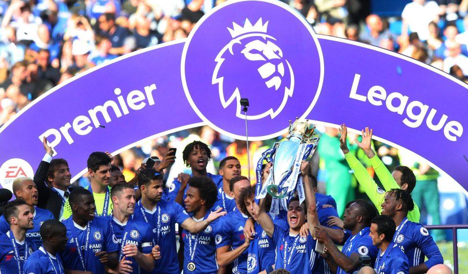 Chelsea celebration 2016-2017 Premier League