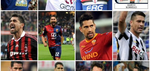 Borriello record scored with 12 different teams in Serie A