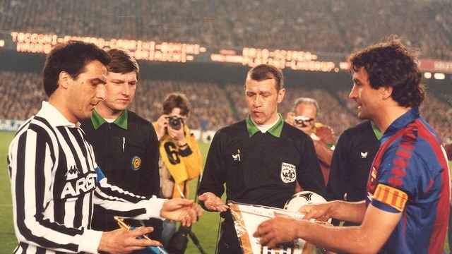 Barcelona vs Juventus Champions League 1985