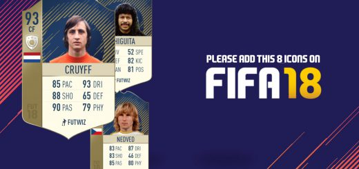 FIFA 18 FUT Icons Leaked