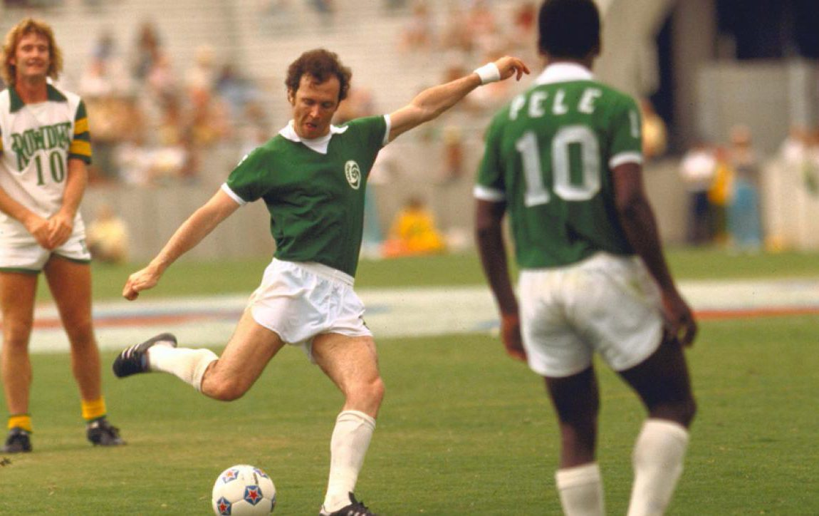 Franz Beckenbauer The Kaiser He won everything Ballon d or included