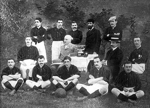 A.C. Milan was founded as Milan Foot-Ball and Cricket Club in 1899