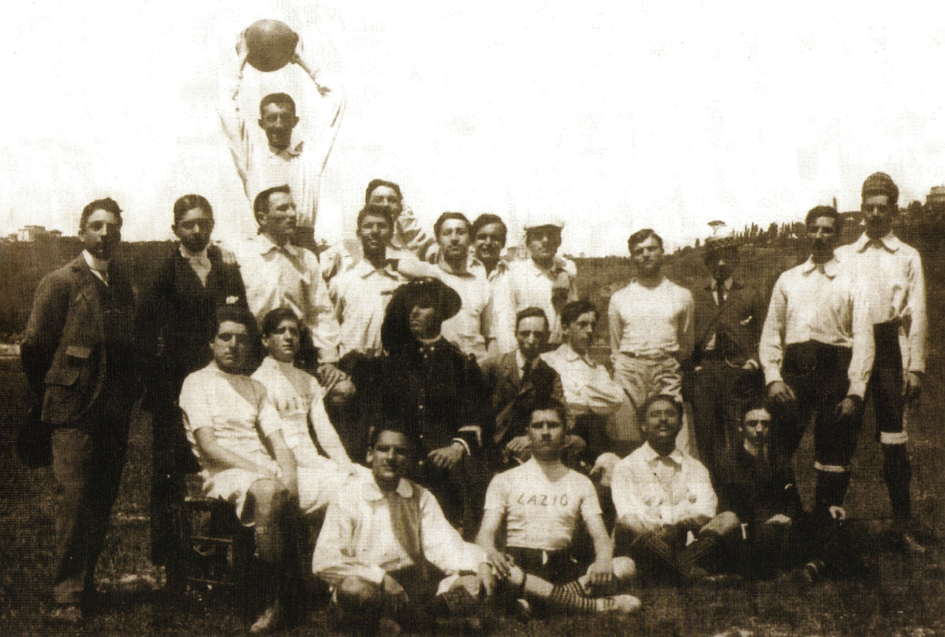 Lazio was founded in 1900