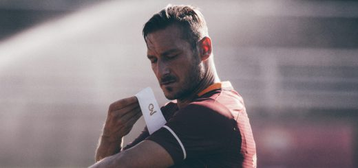 Totti was Captain of Rome for 19 seasons