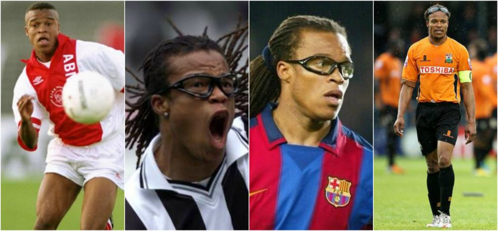 "Edgar Davids -""The Pitbull"" With Glasses"