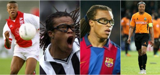 Edgar Davids The Pitbull with glasses