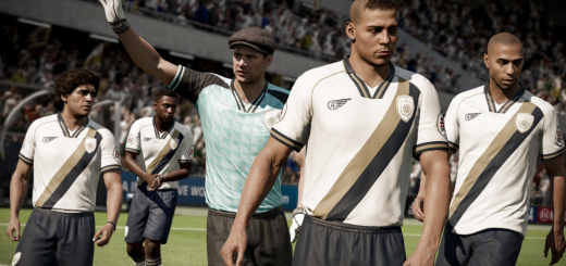 Yashin and Ronaldo FIFA 18 Icons