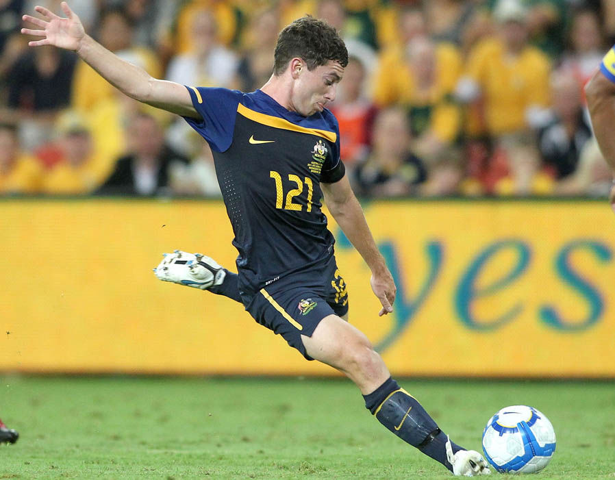 Tommy Oar (Australia) wearing number 121