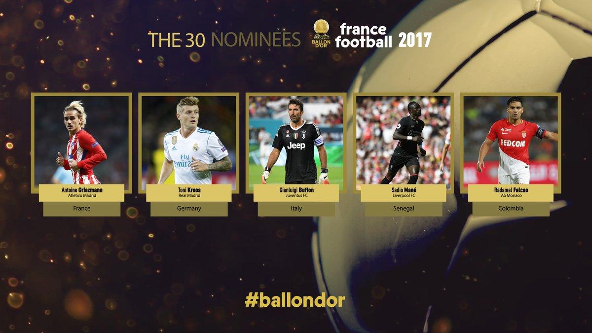 ballon d or 2017