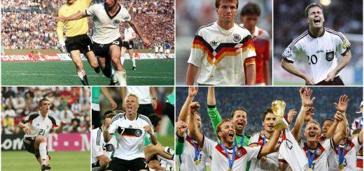 Germany Football Shirt History