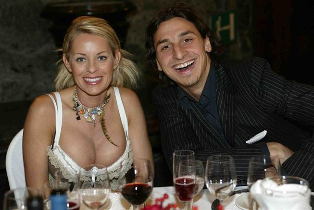 Ibrahimovic wife photo