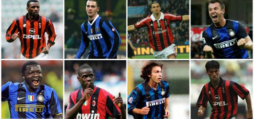 Players Who Have Played For Ac Milan And Inter Milan Archives Football Memories Football History And Actuality