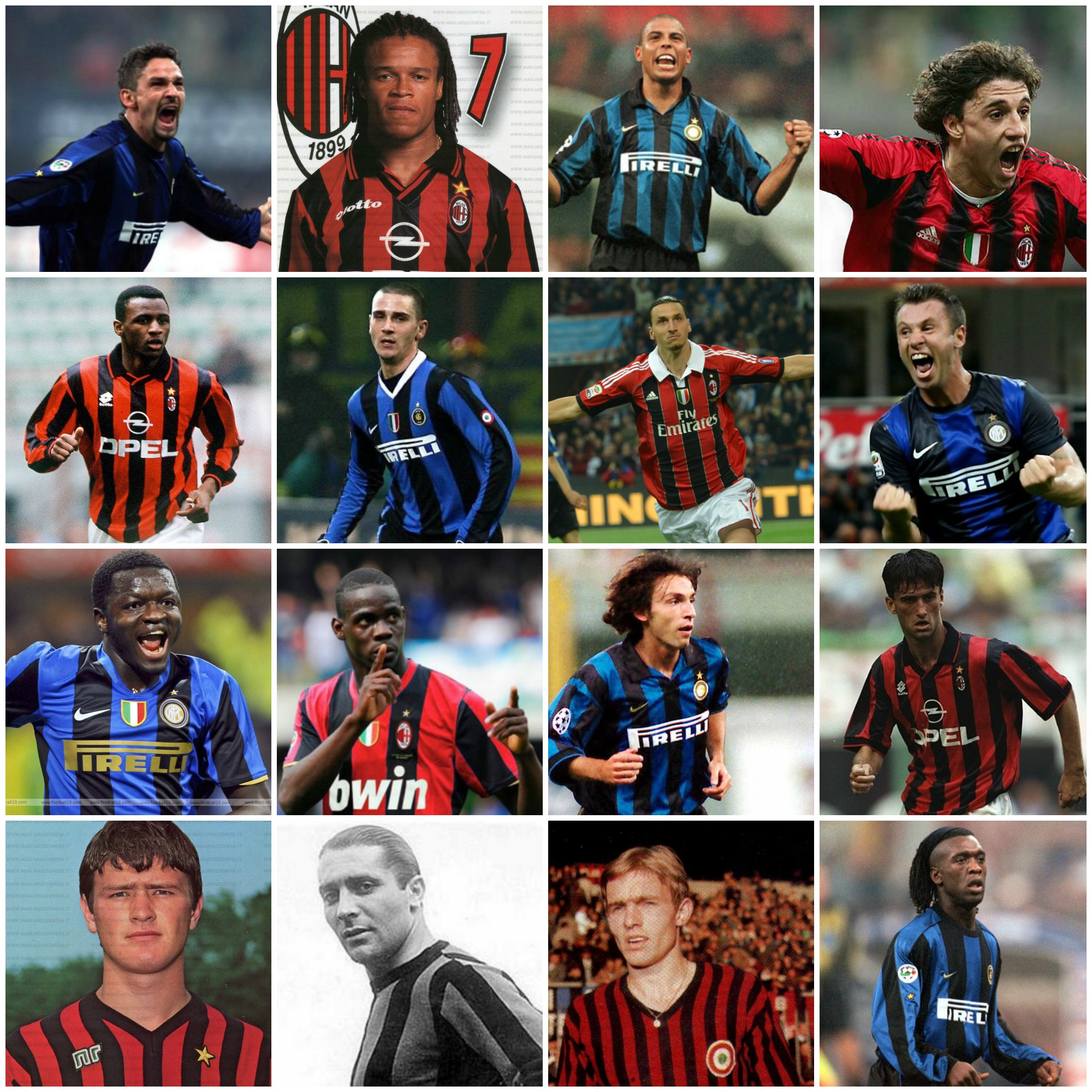 From Baggio To Bonucci Players Who Have Played For Ac Milan And Inter Milan