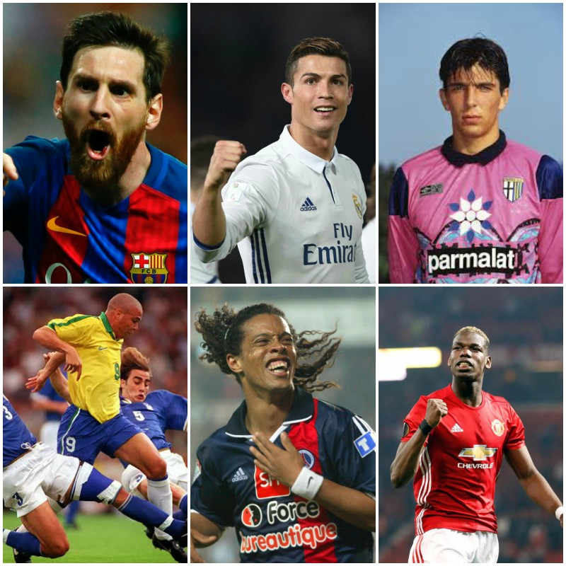 The best player born every year from 1970 to 2000