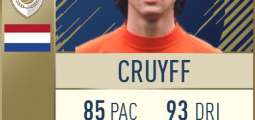 Cruyff FIFA 18 FUT Icon