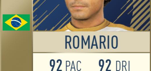 Romario FIFA 18 FUT Icon